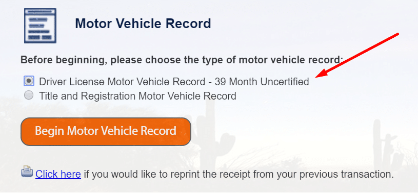 Motor Vehicle Record 39 Month Uncertified 1, R&R Law Group