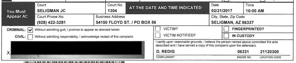 Seligman Justice Court Officer D Redig 06331 1 1024x218 4, R&R Law Group