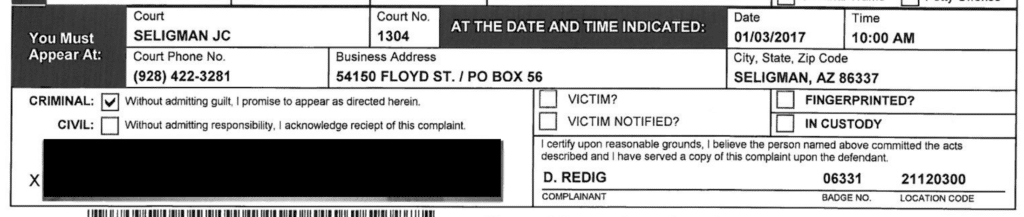 Seligman Justice Court Officer D Redig 06331 2 1 1024x217 2 1, R&R Law Group